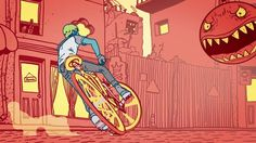 MTV Adrenaline Rush - Bike Lead Creative Direction: VIMN MTV World Design Studio, Milan Creative Director: Roberto Bagatti Associate Creative Director: Anna Caregnato Art Director: Heric Abramo Senior Producer: Cristina Mazzocca Coordinator: Beatrice Cardile Production Company: Mathematic/UFO Director : UFO (FX Pourre) Creative Producer : Rebecca Rice Designer / Illustrator : Gerhard Human Post Production : Mathematic (Mathematic.tv) Modelling 3D : Yann Glica, Farid Dridi Riggin...