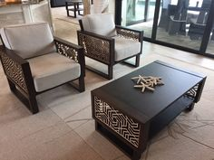 Hexagon Modern Lounge Chairs and Accent Tables in Living Room House Furniture Design, Hall Furniture, Modern Furniture Stores, Luxury Home Furniture, Dream Furniture, Custom Furniture, Contemporary Furniture, Living Room Furniture, Welded Furniture