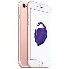 Celular Smartphone Apple iPhone 7 Plus 128GB Dourado/Rosa