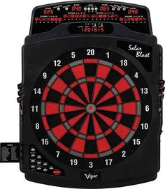 If you are searching for an electric model dartboard with various gaming mode, then look at the Viper Solar Blast Electric Soft Tip Dartboard. With this electric dartboard, you can play 43 different types of games with 187 options. For a bunch of friends, this dartboard is incredibly the best.