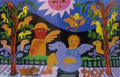 MIRKA MORA: Prominent French-born Australian visual artist — THE CALLA LILY DIALOGUES Australian Painting, Australian Artists, Jewish Art, Fabric Paper, Outsider Art, Calla Lily, Female Art, Folk Art, Contemporary Art