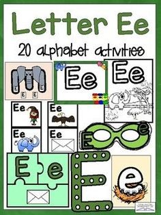 This product contains 20 different activities to learn the letter Dd. Learn the alphabet one letter at a time using fun, engaging, hands-on games, crafts, activities, and printables. Research shows that students learn best through repetition and play. With 20 different ways to learn the letter in fu... Learning The Alphabet, Alphabet Activities, Student Learning, Preschool Activities, Letter Sorting, Abc Centers, Dot Letters, Early Childhood Activities, Alphabet Nursery