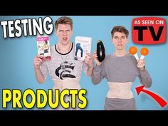 TESTING *AS SEEN ON TV* PRODUCTS Sibling Tag | Collins Key - YouTube