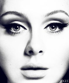 ADELE by Mert Alas & Marcus Piggott, styled by Tonne Goodman for Vogue US, March 2012