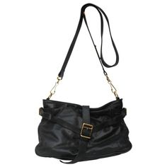 PREOWNED DESIGNER BAGS · BURBERRY BLACK CROSSBODY BAG for sale £250  http   www.vestiairecollective. 01205cc1b3