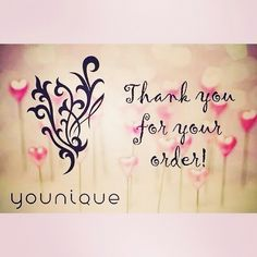 Thank you for your orders Dolls. I have the best clients ever :-) Don't forget to tag me in your selfies :-) https://www.youniqueproducts.com/Laceymarie/business