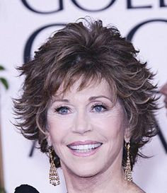Coupe courte pour la belle Jane Fonda