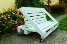 Pallets Bench Sofa Benches & Chairs