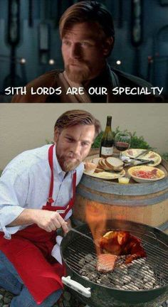 Sith Lords Are Our Specialty Move out Gordan Ramsay bet you never slow oasted a Sith Star Wars Prequel meme Obi-wan Star Wars Witze, Star Wars Jokes, Star Wars Fan Art, Clone Wars, Rasengan Vs Chidori, Prequel Memes, Sith Lord, Jedi Sith, Star War 3