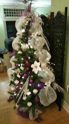 Christmas Wreaths, Christmas Tree, Holiday Decor, Home Decor, Primitive Christmas, Firs, Christmas Swags, Teal Christmas Tree, Homemade Home Decor
