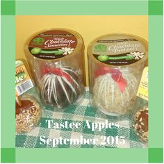 Tastee Apples Review | Amy and Aron's Real Life Reviews @tasteeappleinc