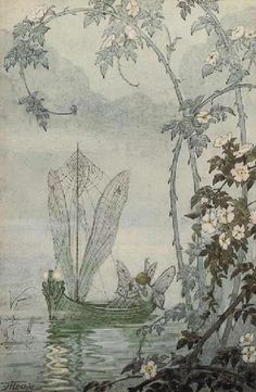 The Fairy Boat - Hilda Hechle.