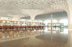 SOM mumbai airport terminal designboom