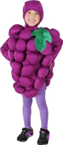 Child's Purple Grapes Halloween Costume (Large) True Reviews