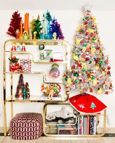 My Houzz: An Austin Stylist's Technicolor Christmas Home