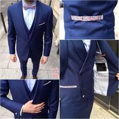 Pour votre mariage ou pour tous les jours, portez un costume qui ne ressemble à aucun autre ! Ce sont les petits détails qui font la différence, ici mes rappel par touche du motif fleuri ;-)