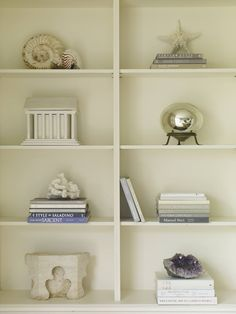 bookcases in LR