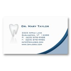 16 best dental hygiene business cards images on pinterest dental dental molar business card dark blue curve colourmoves
