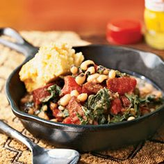 Black-Eyed Pea Stew...one of my favorite recipes but I always make in the crockpot.