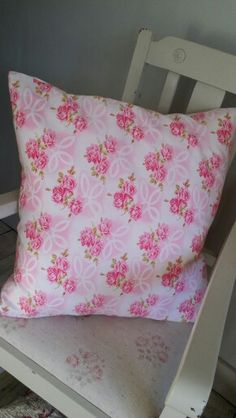Lovely french cotton cushion