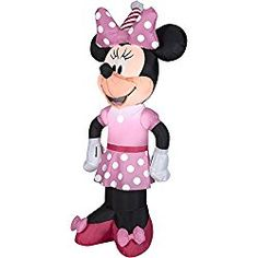Minnie Mouse Bowtique Inflatable Christmas Prop Yard Decor Holiday Airblown for sale online Christmas Blow Up, Minnie Mouse Christmas, Minnie Mouse Party, Mouse Parties, Outdoor Christmas, Christmas Inflatables, Morris, Mini Mouse, Christmas Decorations