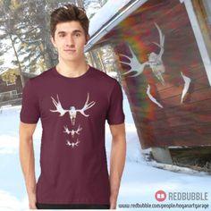 Sold!! 😄...thanks to the person in Finland who bought this 'Big Buck' t-shirt design from my Redbubble webstore.(follow link in my bio @alanhogano ) . . #nature #elkskull #animals #art #design #instaart #artist #instaskull #instalike #taide #konst #visualart #skull #weareinfinland #redbubble #tshirt #finland #finnish #elk #hirvi #älg #bones #bigbuck #sold #redbubbletshirts #instatee #horns #igers_finland