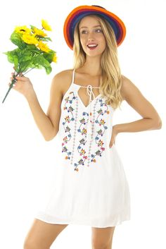Brooklyn White Dress $54.99