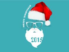 Christmas Santa Claus 2015 http://igostock.com/item-vector/43-christmas-santa-claus-2015