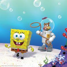 Spongebob And Sandy, New Spongebob, Sandy Cheeks, Spongebob Squarepants, Toy People, Extreme Sports, Great Friends, Karate, Tweety