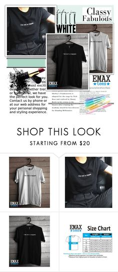 """""""EmaxTees  5"""" by k-lole ❤ liked on Polyvore"""