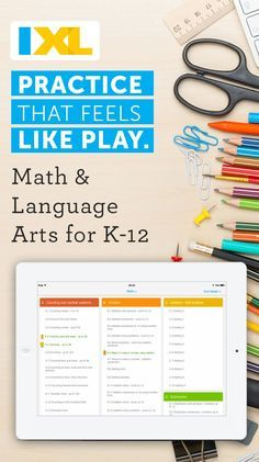 Practice that feels like play. Get the K12 app that teachers use. IXL's free tablet app is here to make math and language arts practice fun and engaging for kids everywhere. Boasting all the functionality of the IXL website as well as a host of unique ta