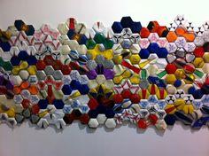 Felipe Barbosa, assemblage et matériaux de récup.