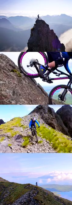 Professional cyclist, Danny MacAskill, takes mountain biking to the extreme.