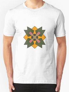 """""""Mandala Star Cluster"""" T-Shirts & Hoodies by Giselle Luske 