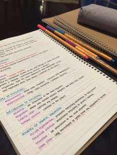 Imagen de notes, study, and pen