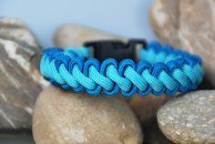 Armbänder - Paracord - Armband blautöne - ein Designerstück von DaiSign bei DaWanda