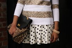 mixing prints and patterns...DO!