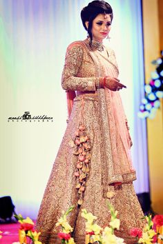 Sister of the Bride - Pink Lehenga | WedMeGood | Pink Sequinned Lehenga with Pink and Beige Latkans, Sister of the Bride Outfit #wedmegood #indianwedding #indianbride #pink #lehenga #bridal #sisterofthebride #sisterofthebridelehenga