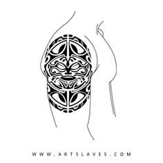 Express yourself with a tattoo design that is as unique as you are. Suffocate Polynesian Tattoo design is a unique piece of artwork. It can be customized by size & color at any local tattoo shop.