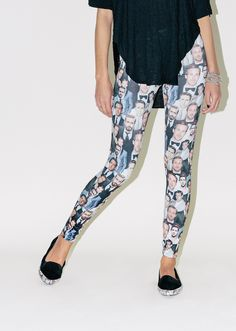 I may just have to get these. Dapper Ryan Gosling Leggings