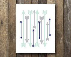 Arrow Printable - Instant Download - 11x14 Wall Art - Arrow Art Print