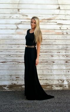 Simple long dress tutorial. Took less than 2 hours. Diy from while Camden sleeps.