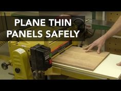 Plane Thin Panels Safely with this Sled Jig - YouTube
