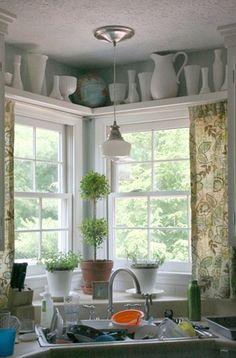 56 best Corner Kitchen Windows images on Pinterest | Kitchens ... Obove Kitchen Window Decorating Ideas Html on