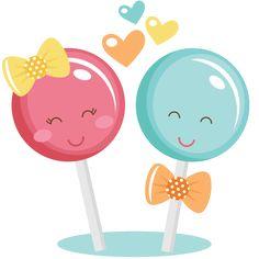 Couple SVG cut files for scrapbooking lollipop svg cut file free svgs free svg cuts Cute Images, Cute Pictures, Cute Clipart, Paper Crafts, Diy Crafts, Cute Illustration, Cupcake Illustration, Silhouette Design, Cute Drawings
