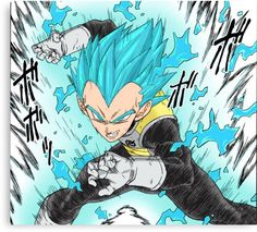 Dragon Ball Z | Vegeta { SSGOD }