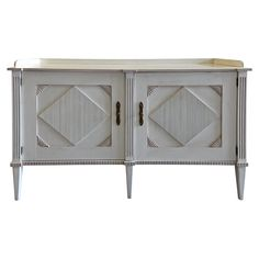 Hickory Chair Embassy Wood Sideboard Front View