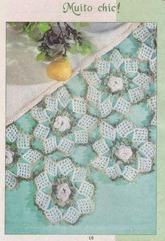 Patterns and motifs: Crocheted motif no. 340