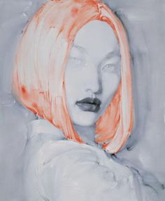 #portrait #painting by Liu Hong
