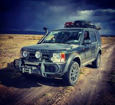 Land Rover LR3 discovery3 off road Bolivia